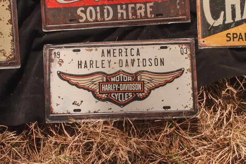 ハーレーの工具ボックス